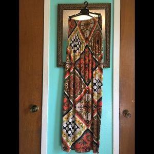 Tube top Maxi Dress